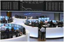 Европейские биржи немного снизились на негативной статистике