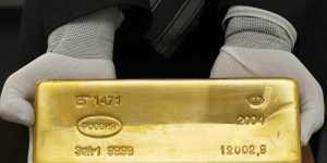 Золото дешевеет уже более чем на 1% на росте аппетита к риску