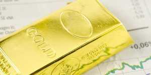 Золото дорожает на усилении геополитических рисков