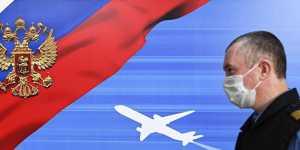 Пассажиропоток авиакомпаний РФ в апреле упал на 92,1%