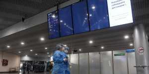 Пассажиропоток аэропортов Москвы в январе-сентябре упал на 52%