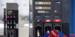 Цены на бензин в России за неделю выросли на 2 копейки