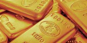 Золото дешевеет на уходе инвесторов в рисковые активы