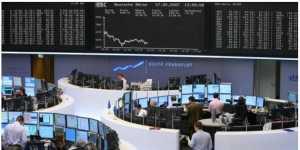 Биржи Европы закрылись небольшим коррекционным ростом