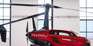Летающий автомобиль PAL-V сертифицирован для езды по дорогам