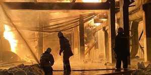 Пожар на НПЗ в Уфе локализован