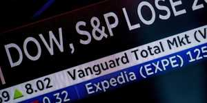 Индекс DJIA не удержался на рекорде, NASDAQ обвалился