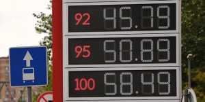 Автомобилисты в России за последние пять лет стали больше тратить на бензин
