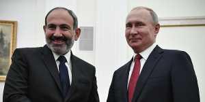 Пашинян попросил Путина определить, какую помощь может оказать РФ