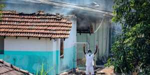 """Заключенные одной из тюрем Шри-Ланки устроили """"коронавирусный"""" бунт"""