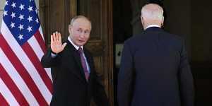 Российско-американский саммит в Женеве завершился
