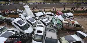 Более 50 человек погибли из-за наводнения в китайской провинции Хэнань